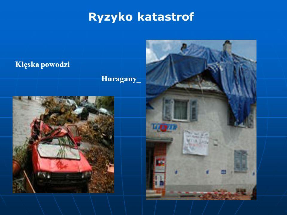 Klęska powodzi Huragany_ Ryzyko katastrof