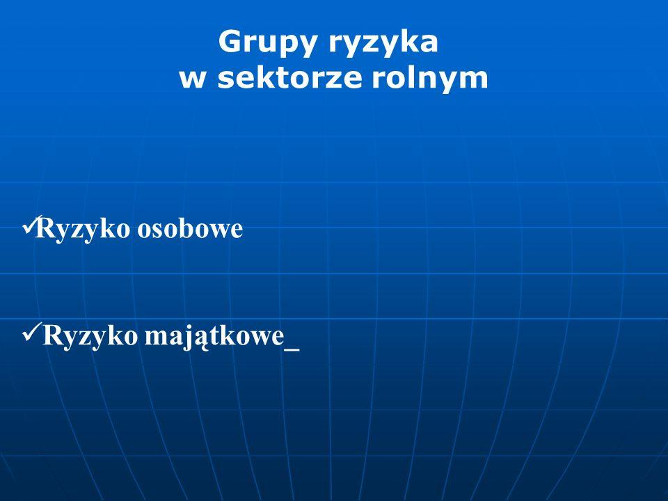 Szczepienia, zmiany systemu upraw ziemi, instrumenty pochodne AGROCASCO (dot.