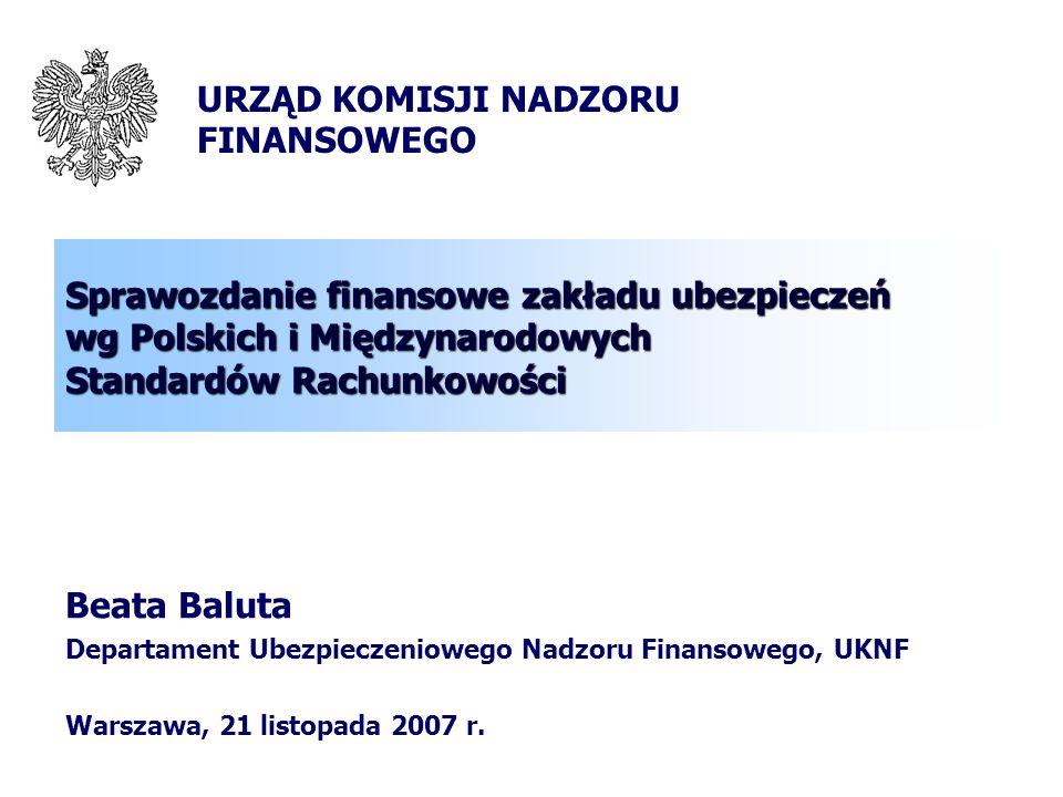 2 MSR-y a Polskie Prawo Bilansowe - rewolucja??? Rewolucja ???