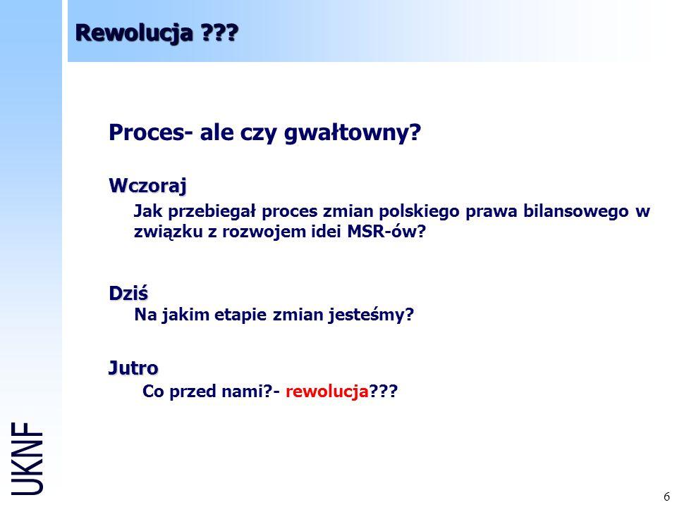 17 Rewolucja ??.Polska dziś DZIŚ – problemy 2007 r.