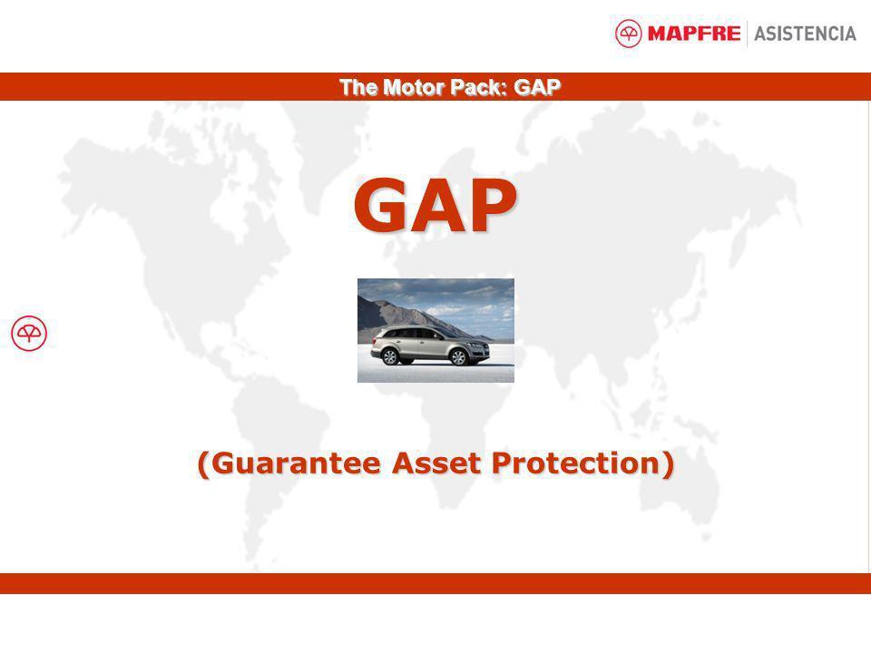 GAP (Guarantee Asset Protection) The Motor Pack: GAP