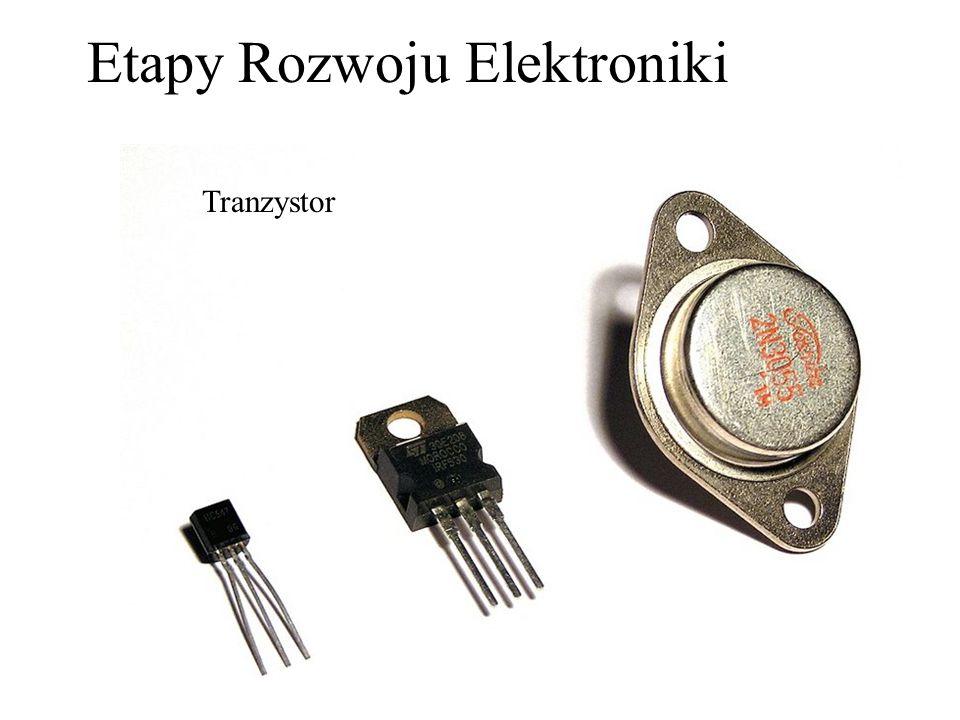 Pierwszy ostrzowy tranzystor germanowy na stole w Bell Laboratories – rok 1947 Tranzystor i później wynaleziony układ scalony muszą być z pewnością zakwalifikowane jako dwa największe wynalazki XX wieku.