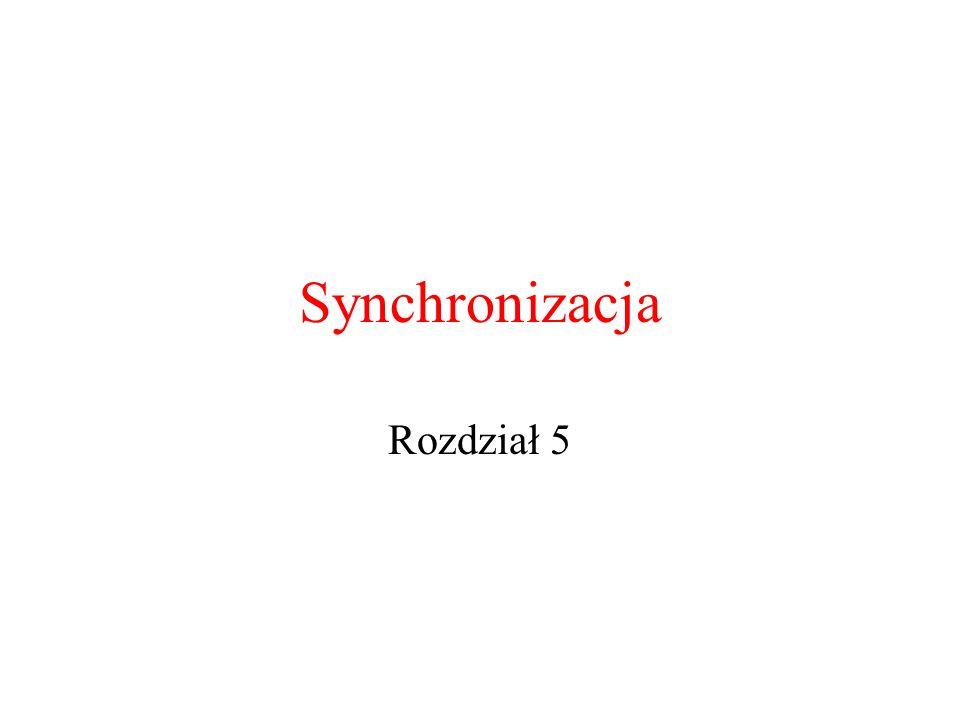 Synchronizacja Rozdział 5