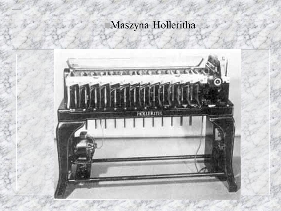 n Maszyna Holleritha