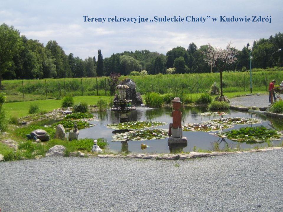Tereny rekreacyjne Sudeckie Chaty w Kudowie Zdrój