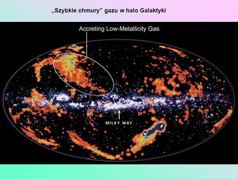 Szybkie chmury gazu w halo Galaktyki