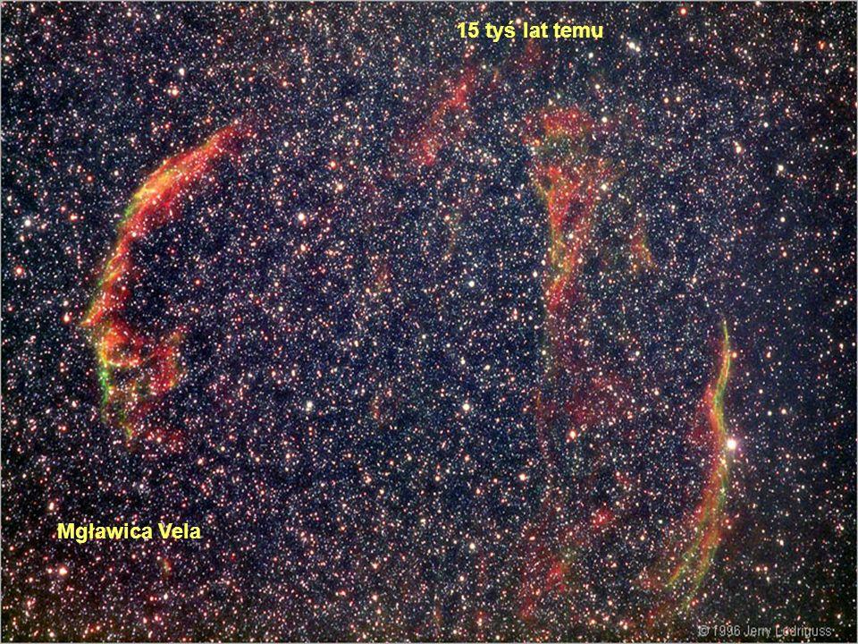 Mgławica Vela 15 tyś lat temu