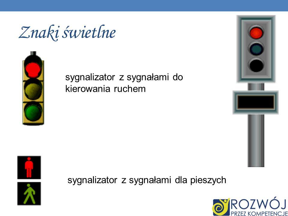 Znaki świetlne sygnalizator z sygnałami do kierowania ruchem sygnalizator z sygnałami dla pieszych