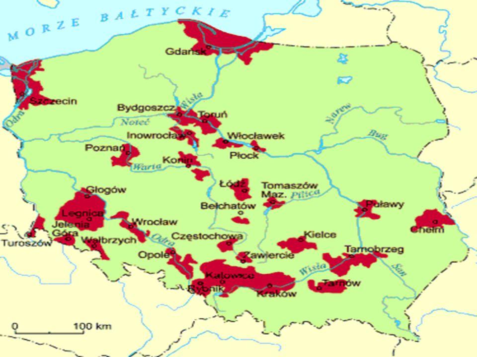 Najbardziej zanieczyszczone rejony w Polsce