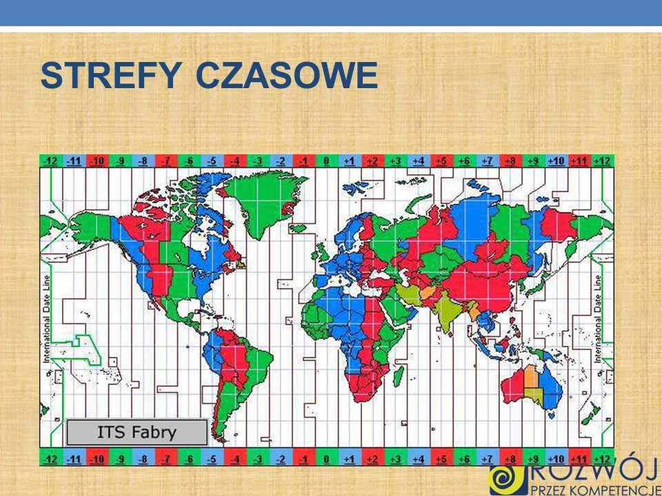 STREFY CZASOWE