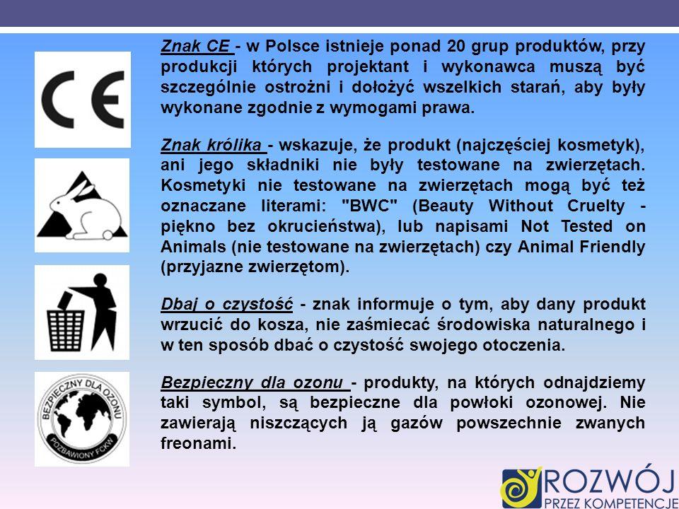Znak CE - w Polsce istnieje ponad 20 grup produktów, przy produkcji których projektant i wykonawca muszą być szczególnie ostrożni i dołożyć wszelkich