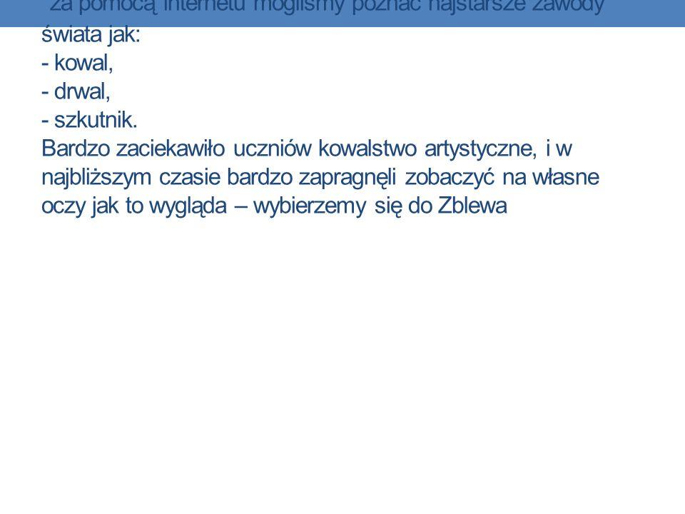 Jakie zawody są przedsiębiorcze – relacje pracownik – pracodawca Zawód, który opisywała Weronika Szyc to Ślusarz.