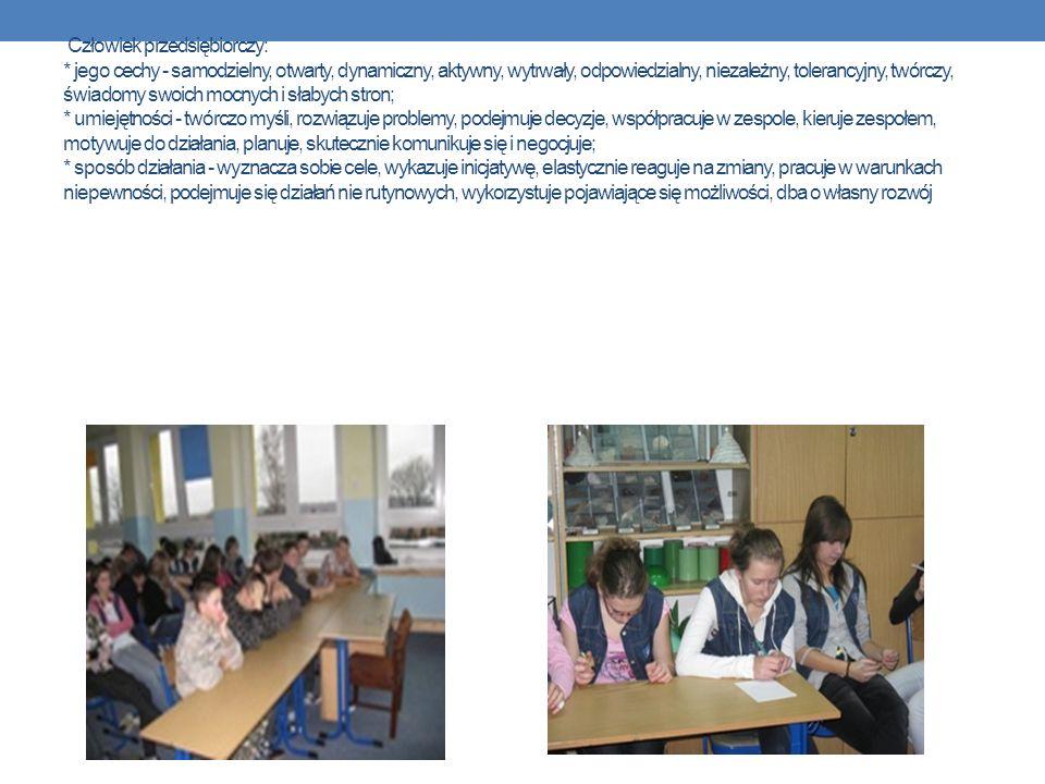 Wykład – ABC Przedsiębiorczość 17 listopada w naszej szkole odbyły się zajęcia pt.,,ABC Przedsiębiorczość.