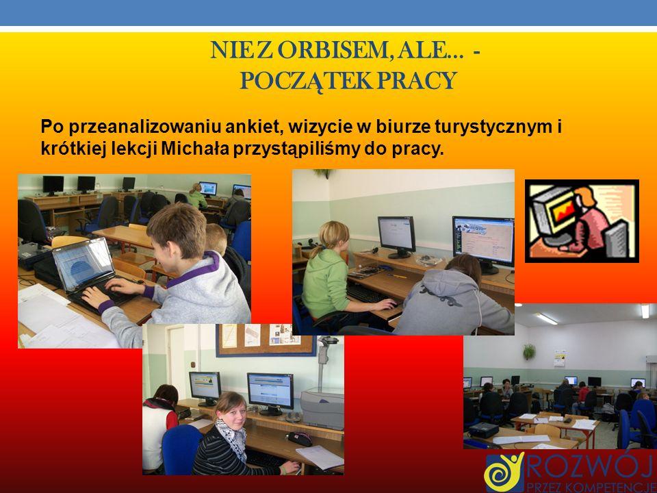 MICROSOFT OFFICE EXCEL Z pomocą naszego kolegi Michała Firańskiego poznaliśmy zasady działania programu Microsoft Office Excel.