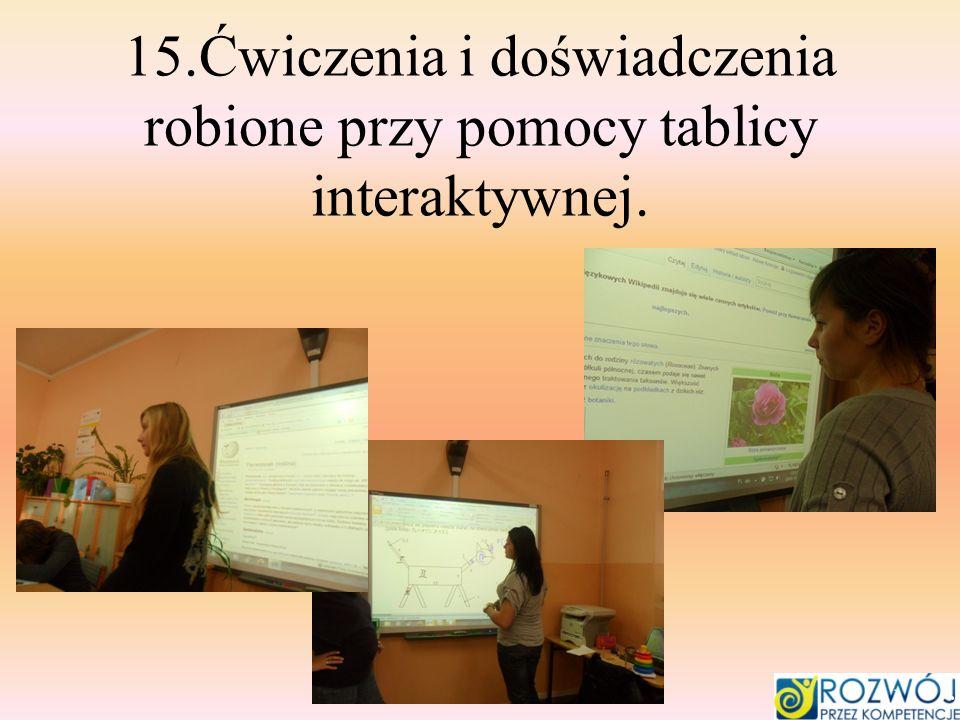 16.Budowanie wielokątów foremnych.