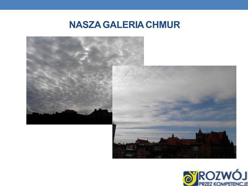 NASZA GALERIA CHMUR