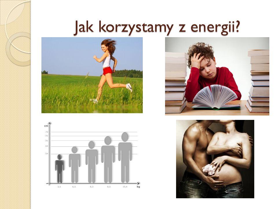 Jak korzystamy z energii?