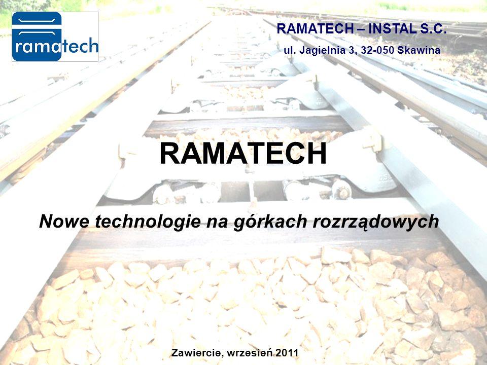 Nowe technologie na górkach rozrządowych RAMATECH RAMATECH – INSTAL S.C.