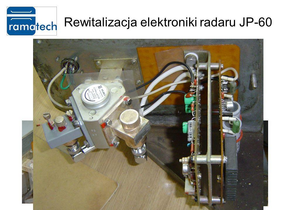 Rewitalizacja elektroniki radaru JP-60