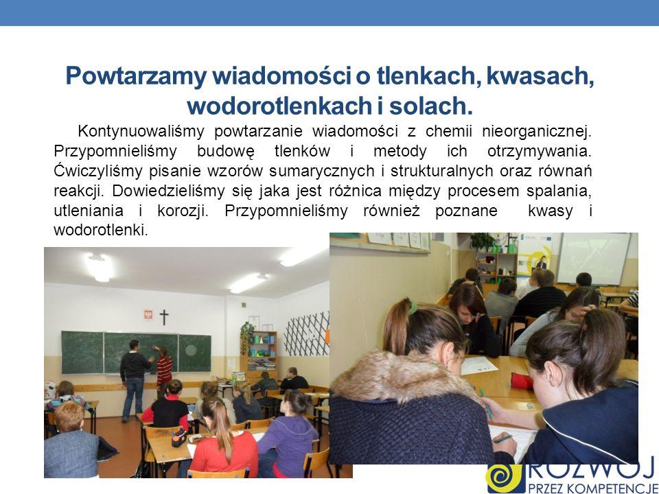 Przygotowujemy się do egzaminu gimnazjalnego.