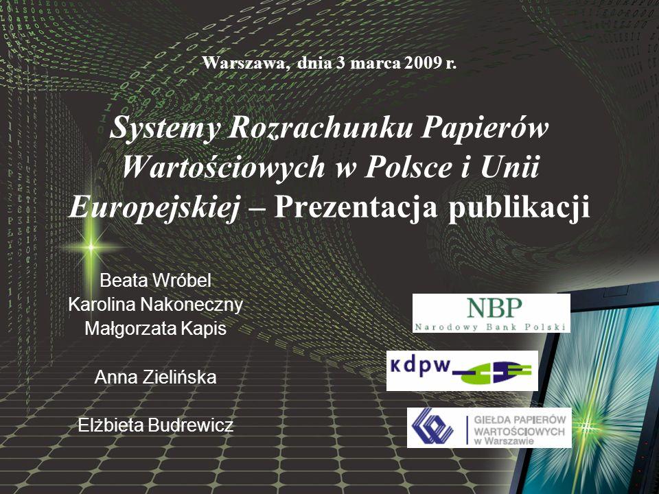 Geneza i historia powstania publikacji Grudzień 2005 r.