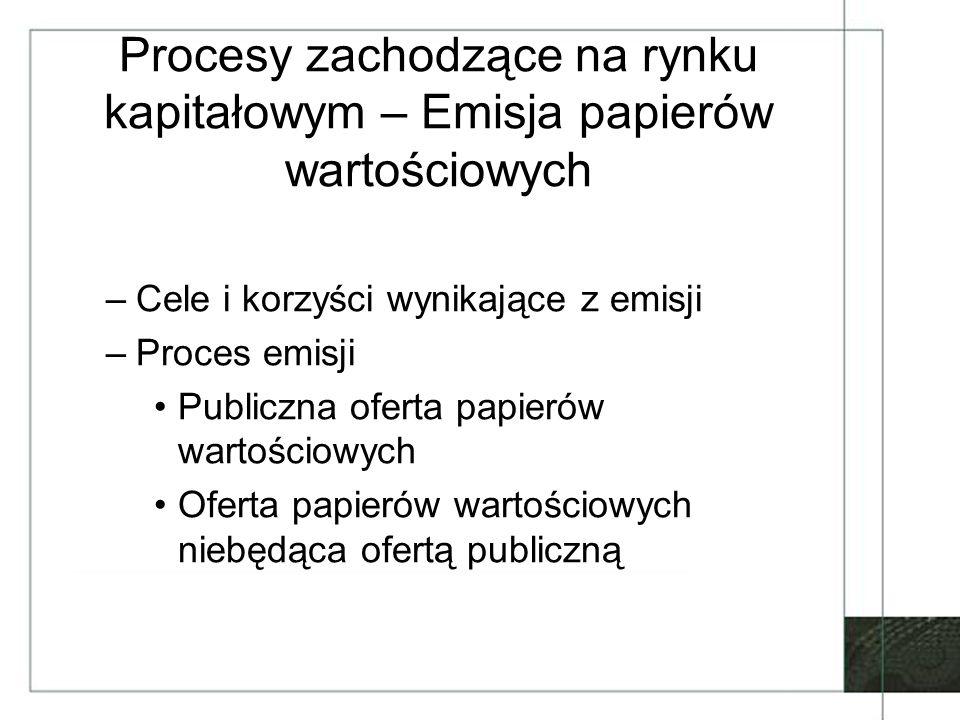 Historia i obecna rola KDPW SA (2) Pozostałe funkcje: –nadawanie kodów ISIN –fundusz gwarancyjny dla OFE –obsługa wypłat transferowych –zarządzanie systemem rekompensat Współpraca operacyjna z depozytami zagranicznymi