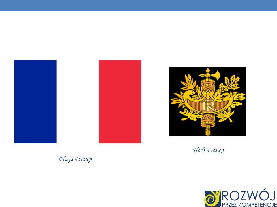 Flaga Francji Herb Francji