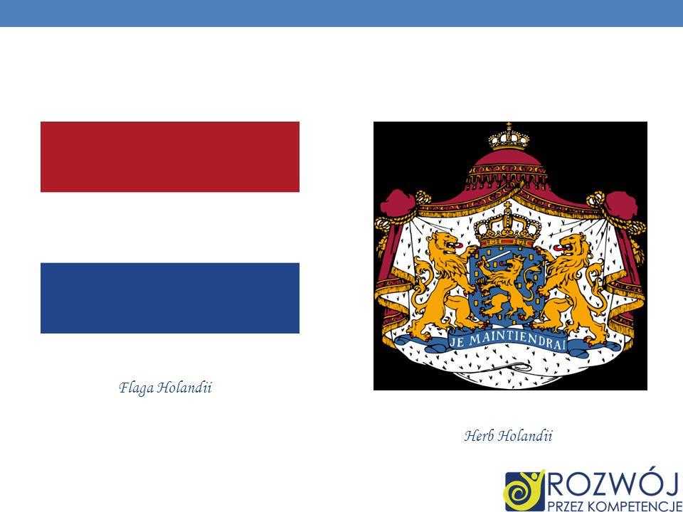 Flaga Holandii Herb Holandii