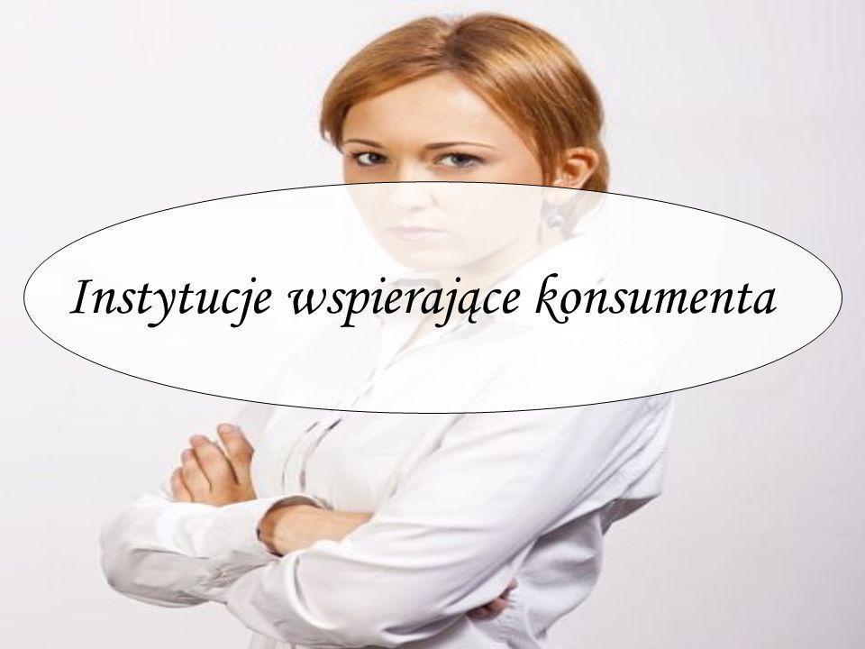 Instytucje wspierające konsumenta