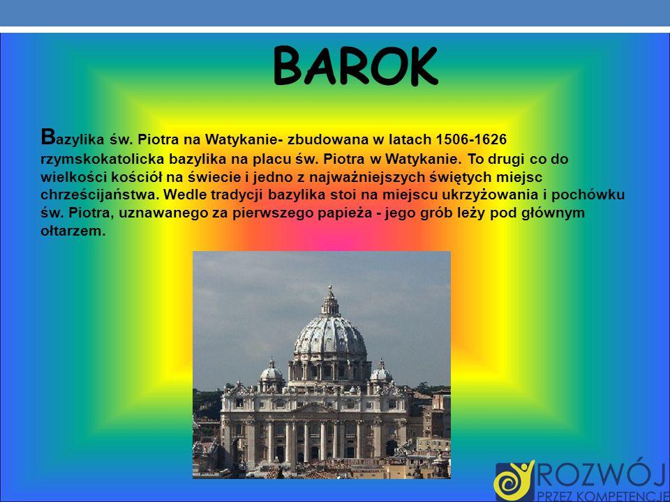 BAROK B azylika św.
