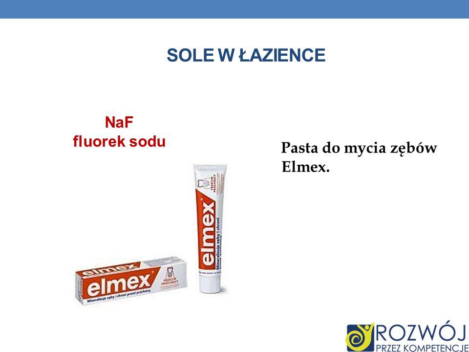 SOLE W ŁAZIENCE Pasta do mycia zębów Elmex. NaF fluorek sodu