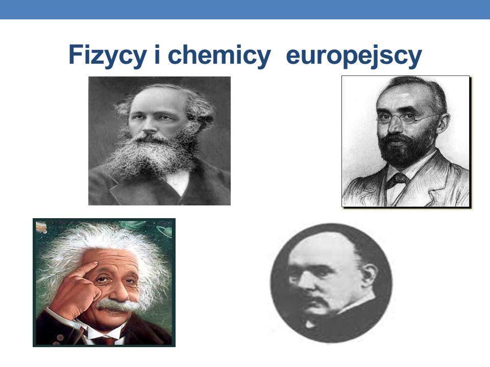 Fizycy i chemicy europejscy