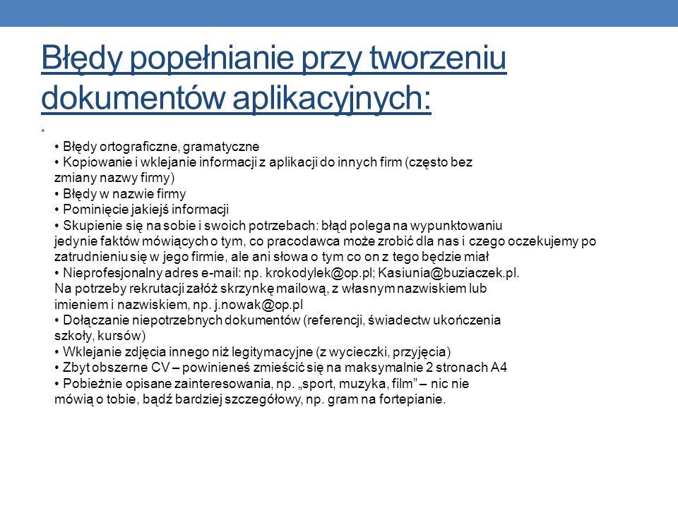 cd.cv Szkolenia: styczeń 2003 – Nazwa/rodzaj szkolenia: Organizator szkolenia:......