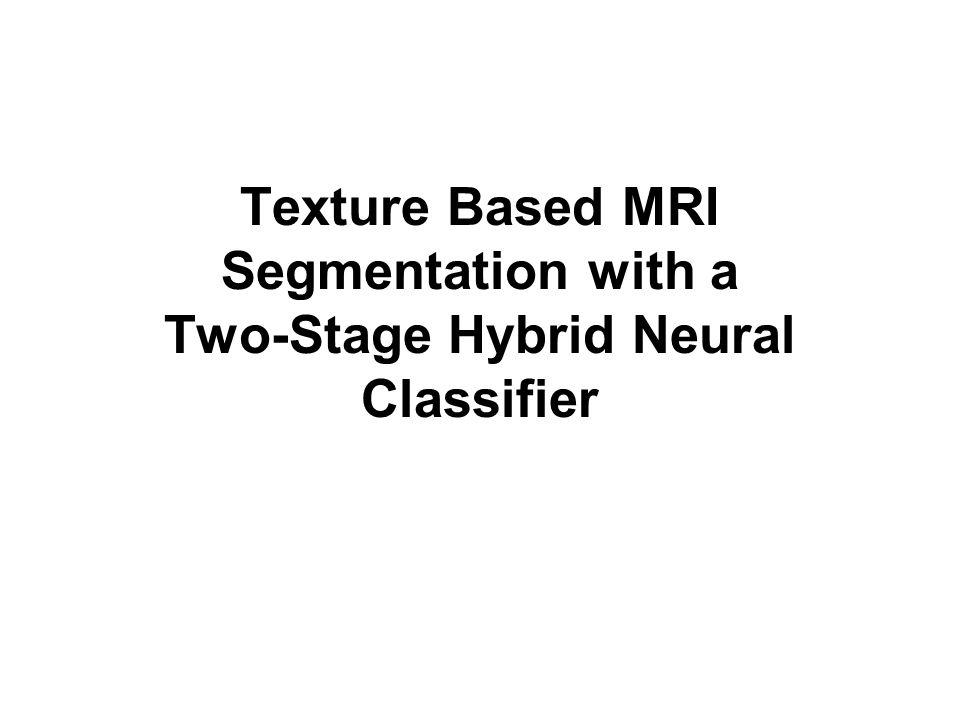 Autorzy w swojej pracy proponują automatyczną metodę do pozyskiwania struktur anatomicznych w MRI opierając się na klasyfikacji tekstur.