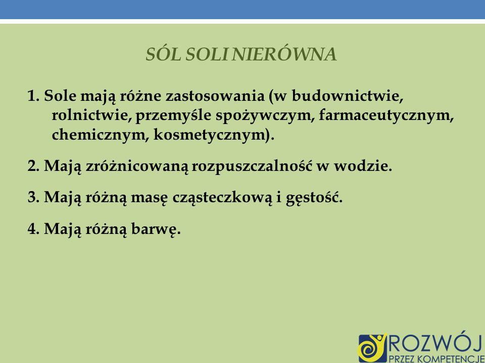 SÓL SOLI NIERÓWNA 1.