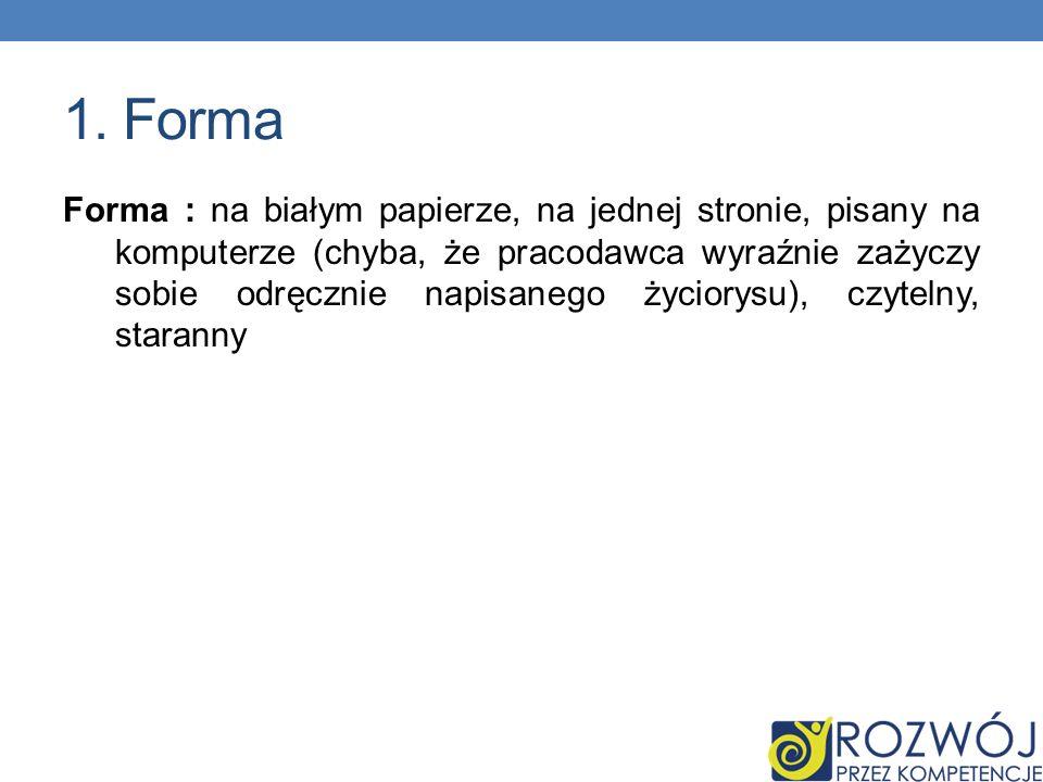Curriculum Vitae CV od łacińskiego Curriculum Vitae, co oznacza przebieg życia – należy rozumieć ów skrót jako życiorys zawodowy. Pamiętaj: Życiorys t