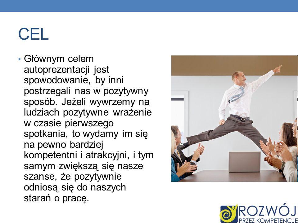 Autoprezentacja – sposób, w jaki każdy człowiek poprzez swoje wypowiedzi, zachowania i sygnały niewerbalne przedstawia swoją osobę.