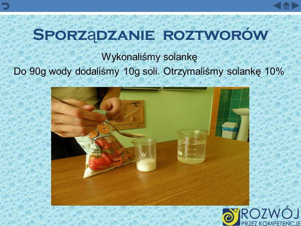 Rozwi ą zywanie zada ń o st ęż eniach procentowych Ile wody należy dodać do 3 g kwasku cytrynowego, aby otrzymać 1% poncz do nasączania ciast biszkoptowych.