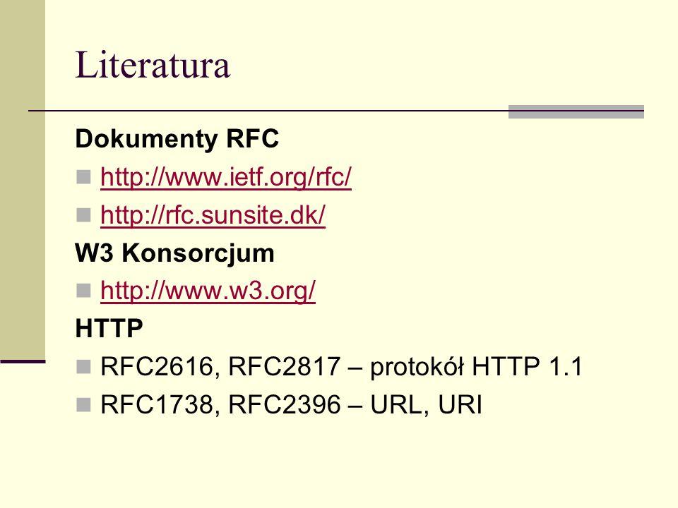 Protokół HTTP/1.1 c.d.
