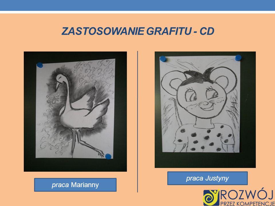 ZASTOSOWANIE GRAFITU - CD praca Marianny praca Justyny