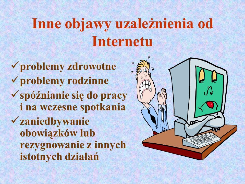 Co to znaczy być uzależnionym od Internetu.