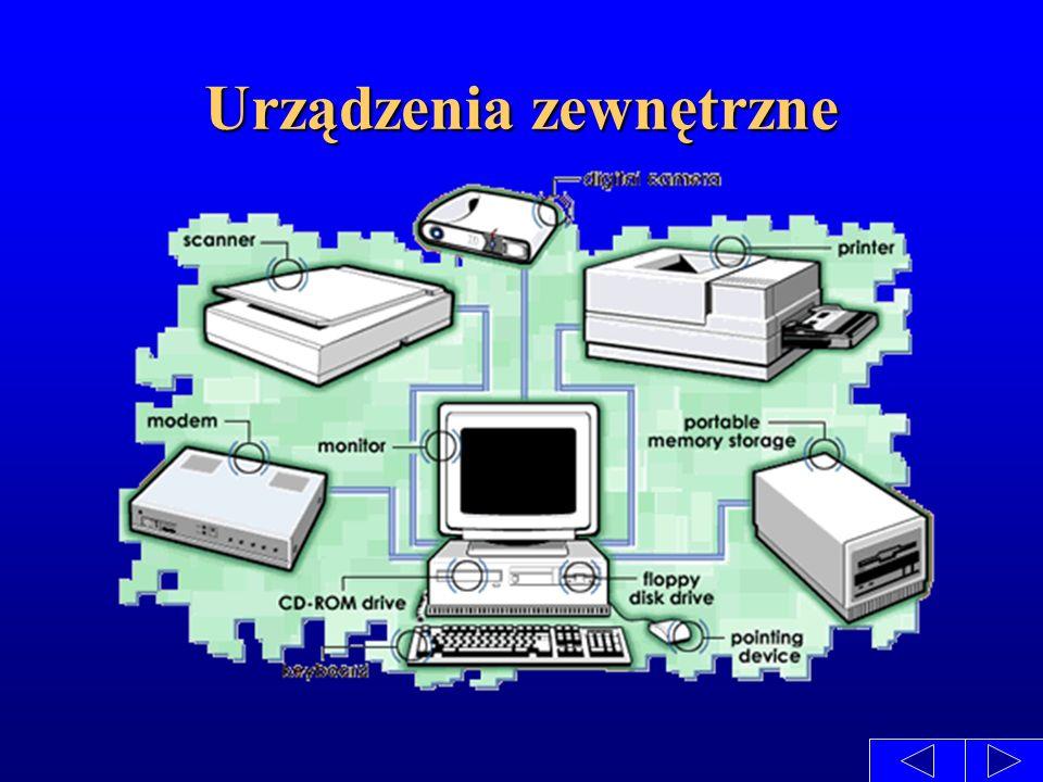 Obudowy Obudowa występuje w dwóch podstawowych formach leżącego pudełka (najczęściej nazywaną desk-top) i stojącego pudełka - wieża (tower).
