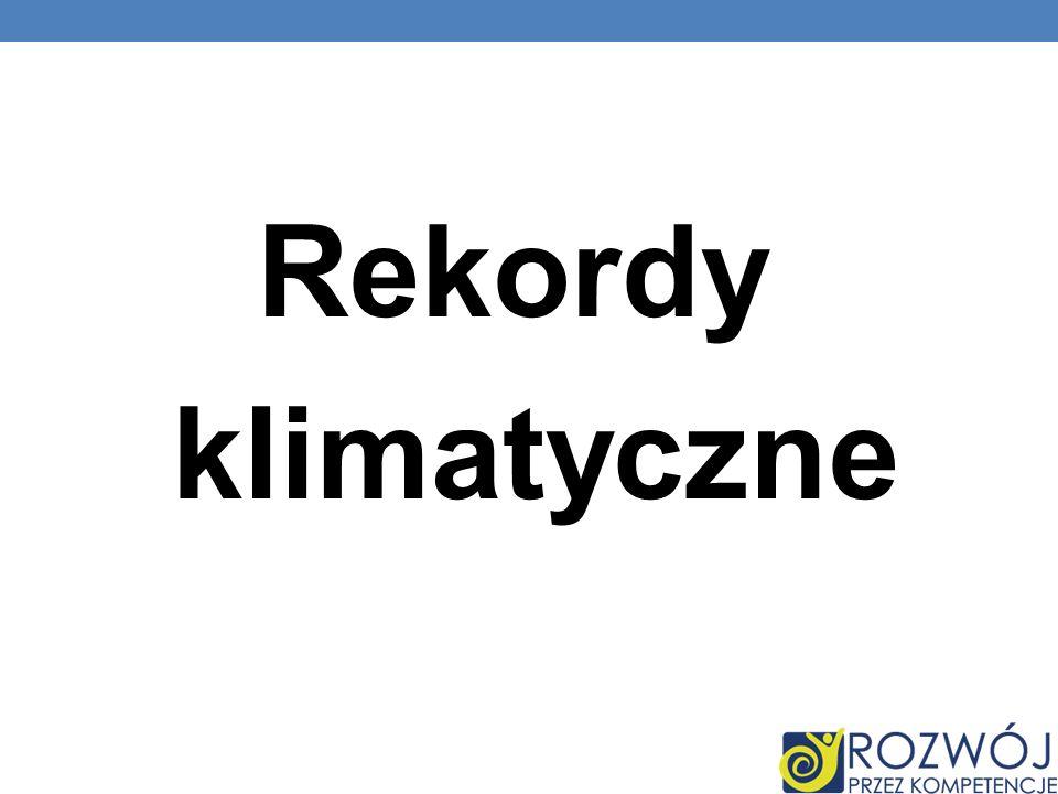 Rekordy klimatyczne