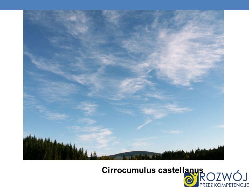 Cirrocumulus castellanus