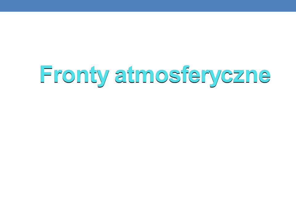Fronty atmosferyczne