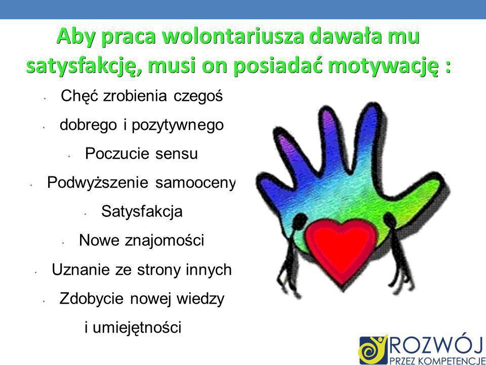 Wolontariat w Polsce jest zjawiskiem znacznie mniej powszechnym, niż w krajach zachodnich.