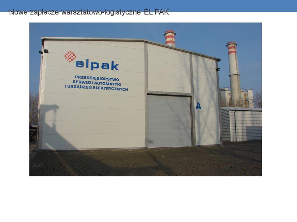 Nowe zaplecze warsztatowo-logistyczne EL PAK