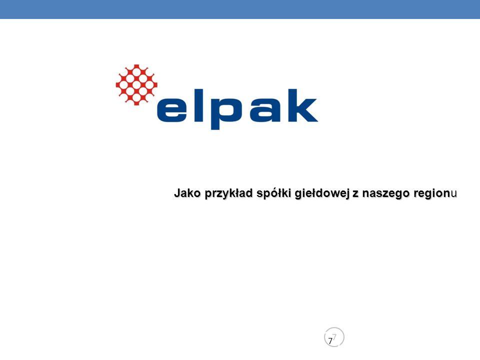 Informacje ogólne 8 8 FirmaPrzedsiębiorstwo Serwisu Automatyki i Urządzeń Elektrycznych EL PAK Sp.
