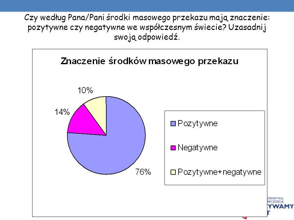 W jakim gatunku prasy, Pan/Pani gustuje? Proszę podać jej tytuł. (max 3 odpowiedzi) Magazyny informacyjne: Wprost, Polityka, Gazeta Lubuska, Gazeta Wy