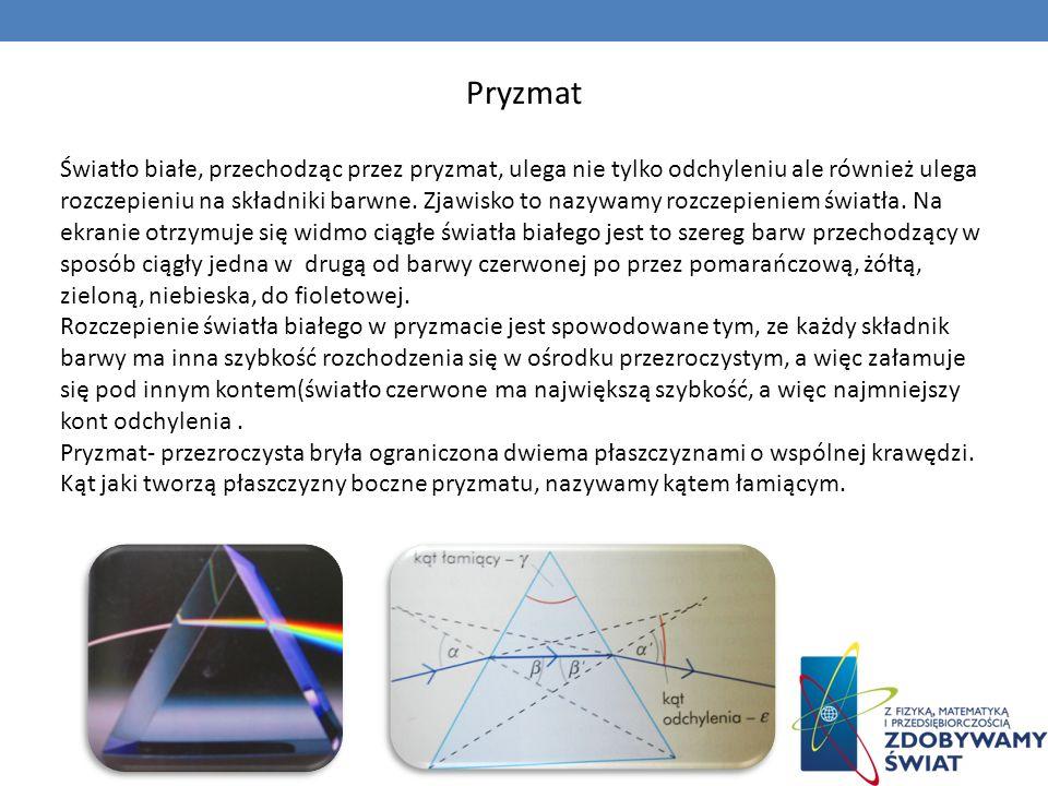 Przyrządy optyczne Najdoskonalszym przyrządem optycznym jest ludzkie oko.